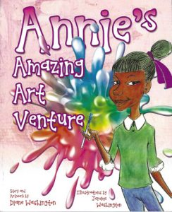 Annie's Amazing Art Venture book is available at Amazon.com